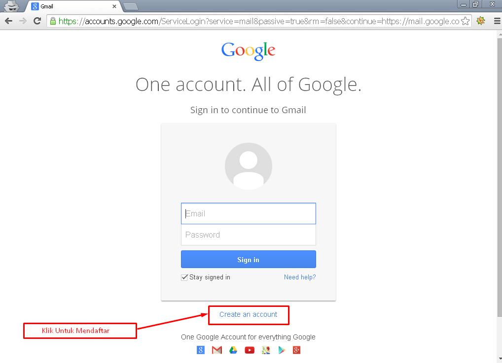 cara membuat email di google 1