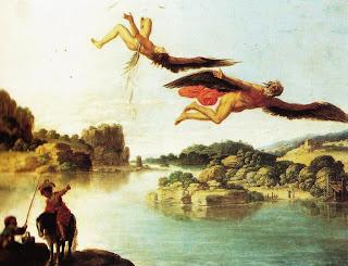 Carlo Saraceni, Caduta di Icaro