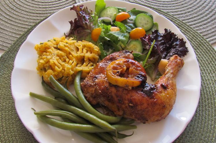 La cuisine de messidor poulet r ti en crapaudine recette - Cuisiner un poulet entier ...