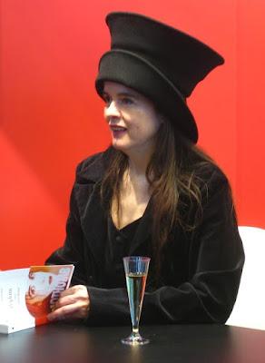 Amélie Nothomb, Salon du Livre de Paris, 2009