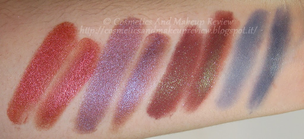 Neve Cosmetics - Pop Society Collection - Compilation, Fuseaux, Videogame, Yuppie - swatches flash