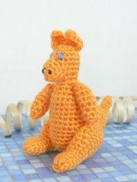 Purple Minion Amigurumi Pattern : 2000 Free Amigurumi Patterns: Kelly Kangaroo designed by ...
