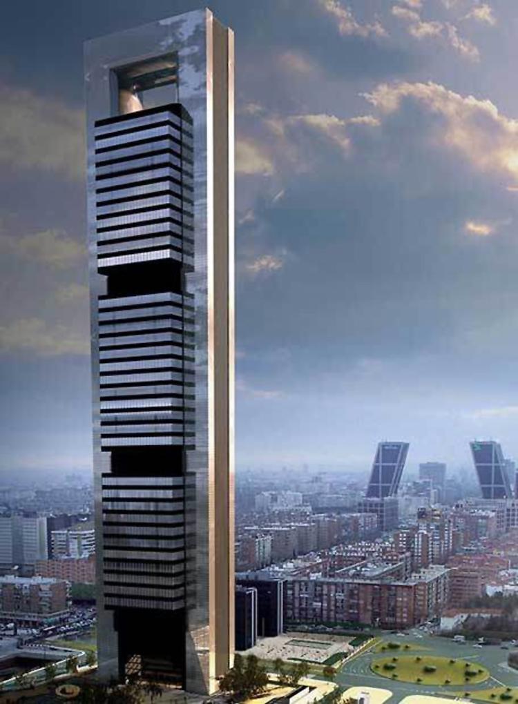 Spray de temas por j j edificios con altura en madrid - Caja de arquitectos madrid ...