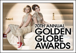 (14th-Jan-13) The 70th Annual Golden Globe Awards