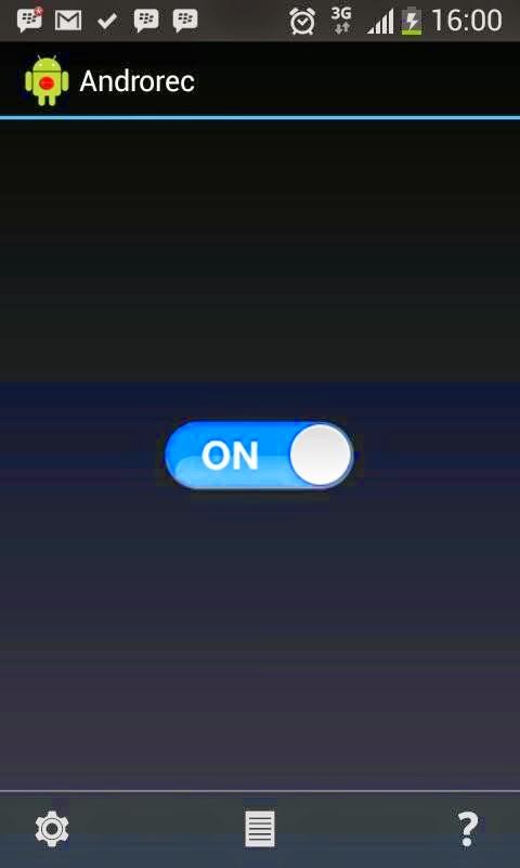 cara merekam percakapan telepon di android