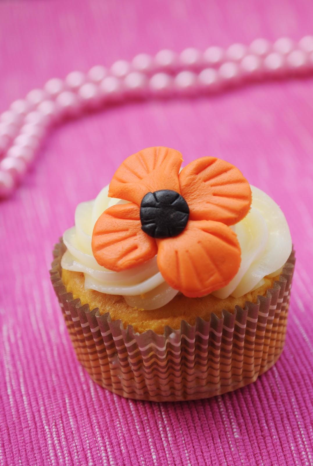 Belle cake topper and mould easy poppy flower easy poppy flower mightylinksfo