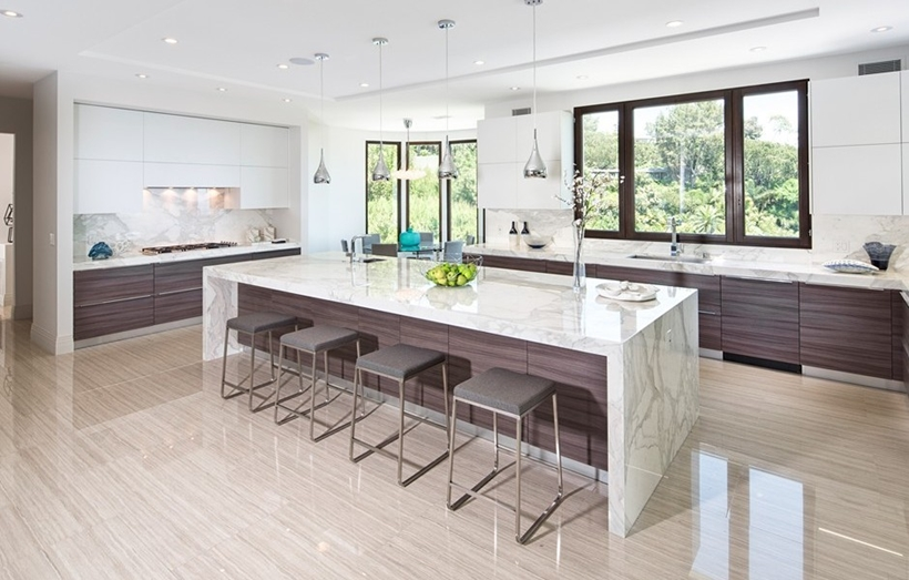 Modern elegant kitchen