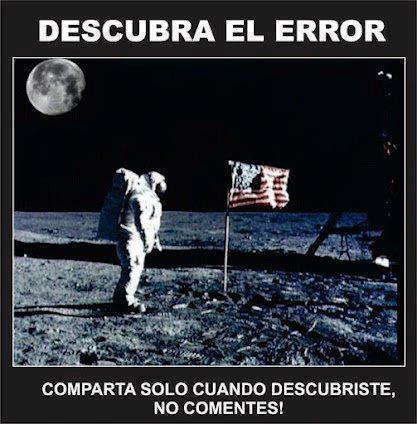 Error lunar