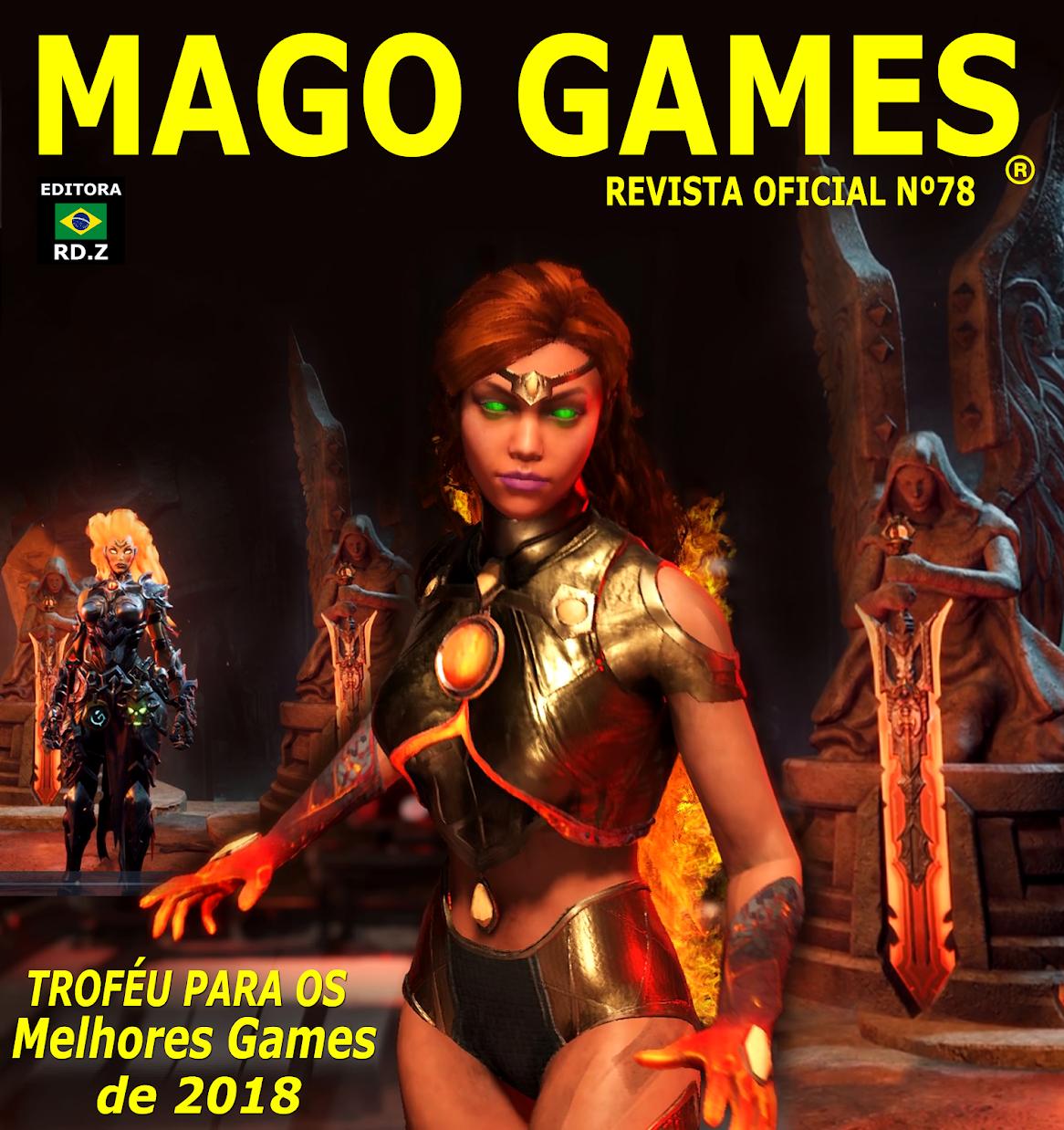 Revista Mago Games RD.Z