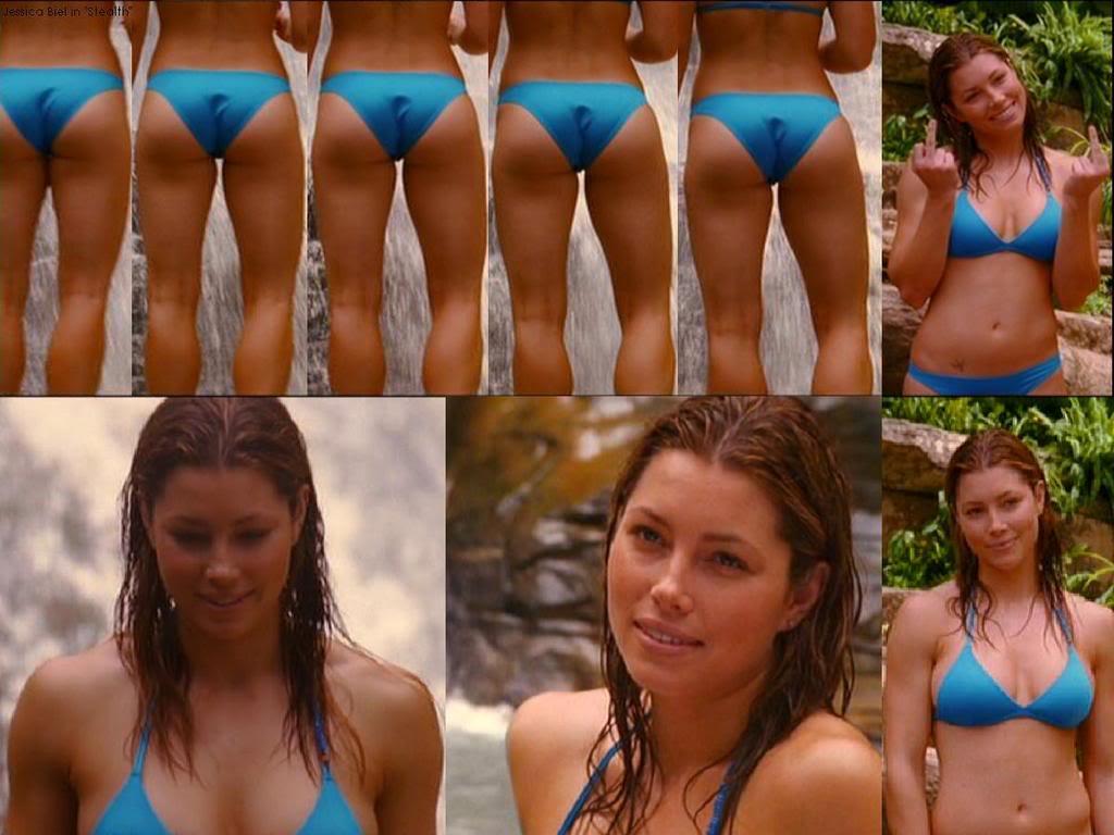 Jessica biel bikini stealth