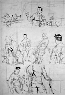 MALE DRAWING ART BLOG : CARLOS GARCIA / CHAZ DRAWING