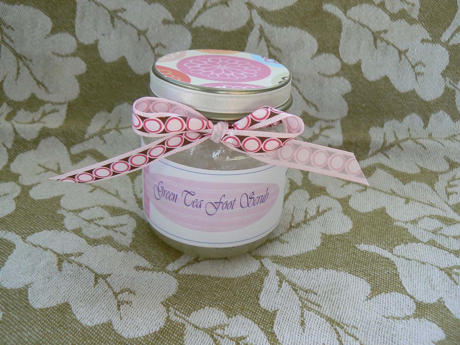 Green Tea Sea Salt Foot Scrub