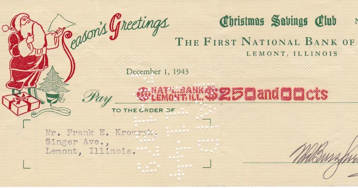 Banks With Christmas Club Accounts