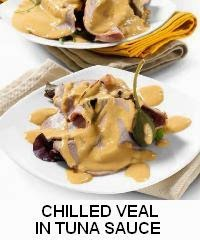 CHILLED VEAL IN TUNA SAUCE