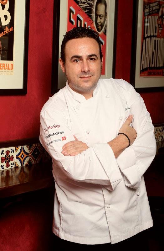Chef Emilio Ortega, Group Executive Chef, Gastrodome
