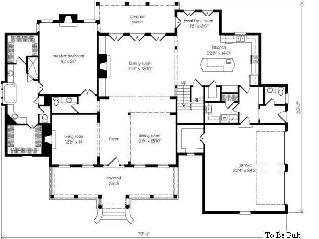 Casas fachadas planos para ranchos for Planos de fachadas