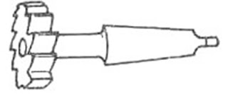 T-Slot Milling Cutter
