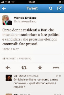 donne in politica ? basta un tweet