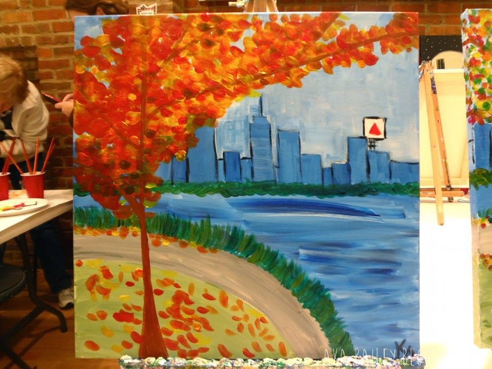 Kara's painting