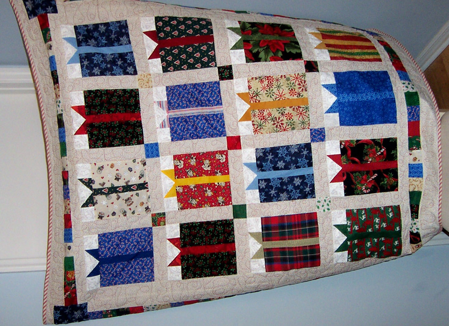 Christmas Gift Box Quilt Pattern