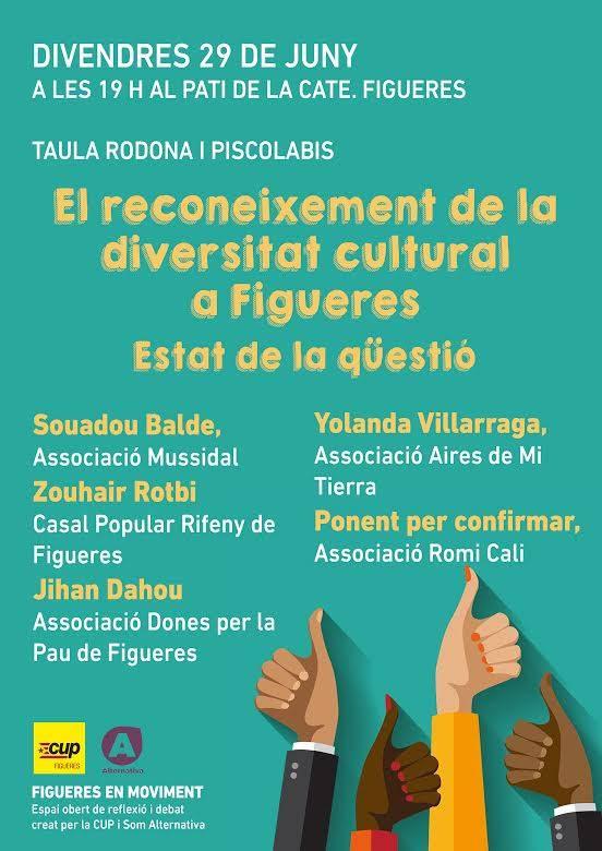 El reconeixement de la diversitat cultural a Figueres a debat