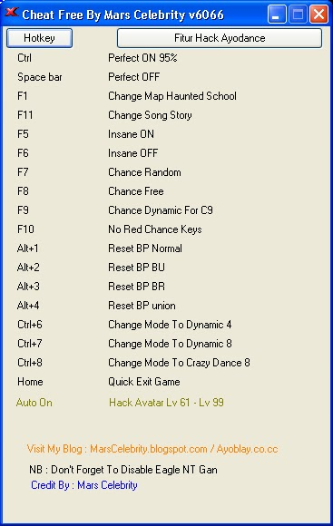Cheat Audition Ayodance Fullhack V6108 BY MARS CELEBRITY ...