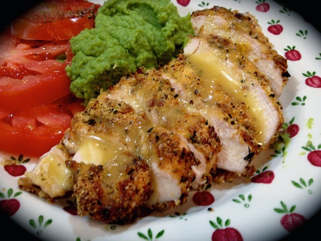 Most Popular: Pecan-Crusted Chicken with Honey Mustard Dressing from Bewitching Kitchen #SecretRecipeClub #recipe
