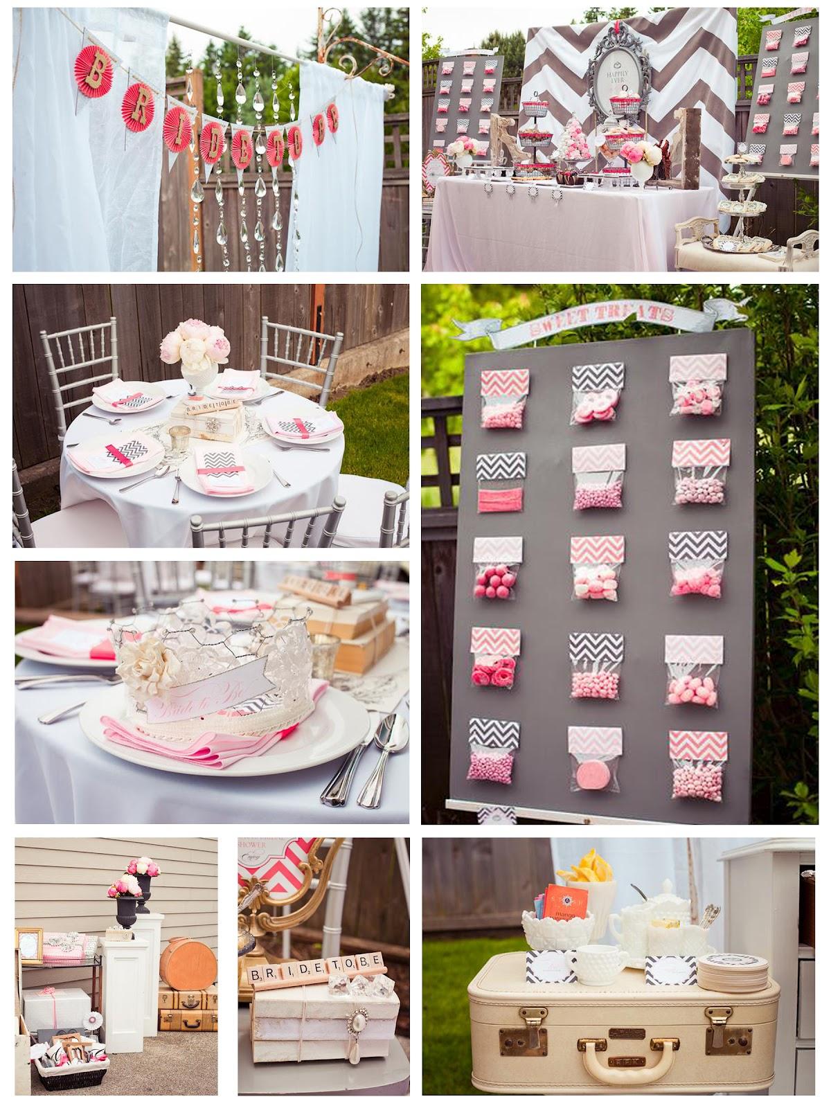 Designer kayla vintage bridal shower decor for Classy kitchen tea ideas