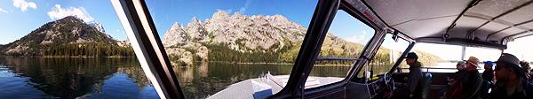 Jenny Lake Boat Ride