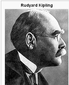 List of Indians awarded Nobel Prize-Rudyard Kipling