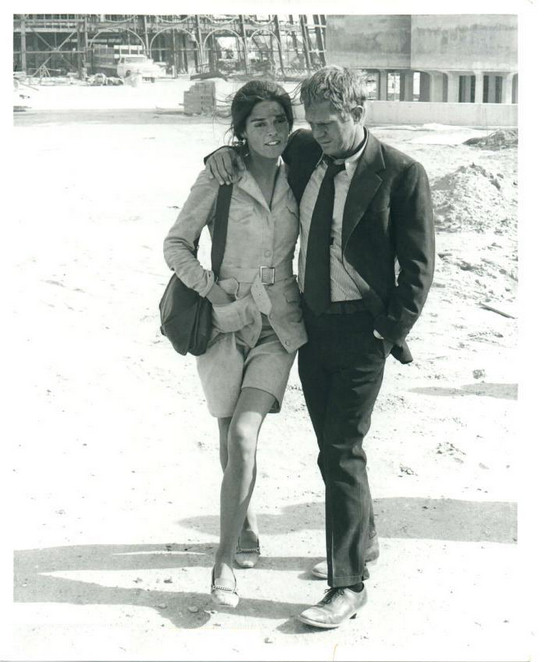 Retro Vintage Mod Style: May 2013  Ali Macgraw And Steve Mcqueen