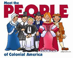Pilgrims, Indians, etc. People of Colonial America