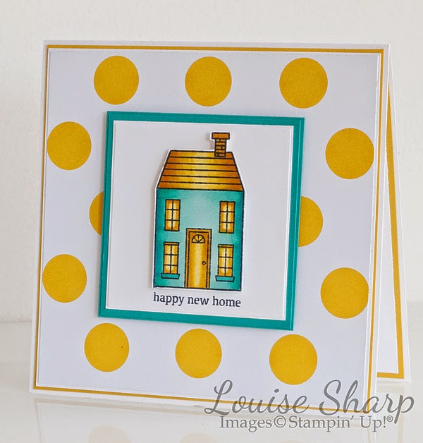 Louise Sharp | Flowerlot | Holiday Home |  Stampin Up | Just Add Ink | Colour Challenge |
