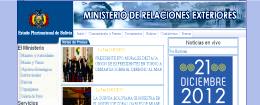 Relações Exteriores Bolívia