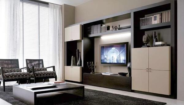 Sala cor preta e branca