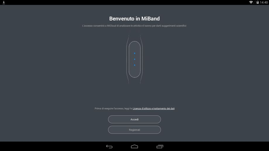 Xiaomi MiBand Apps Android