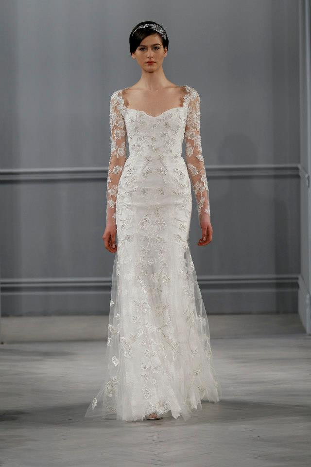 Luxury Wedding Dresses New York : Passion for luxury monique lhuillier bridal collection