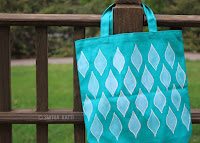 http://www.smilingcolors.com/2015/07/how-to-stencil-on-fabric-with-acrylic-paints/
