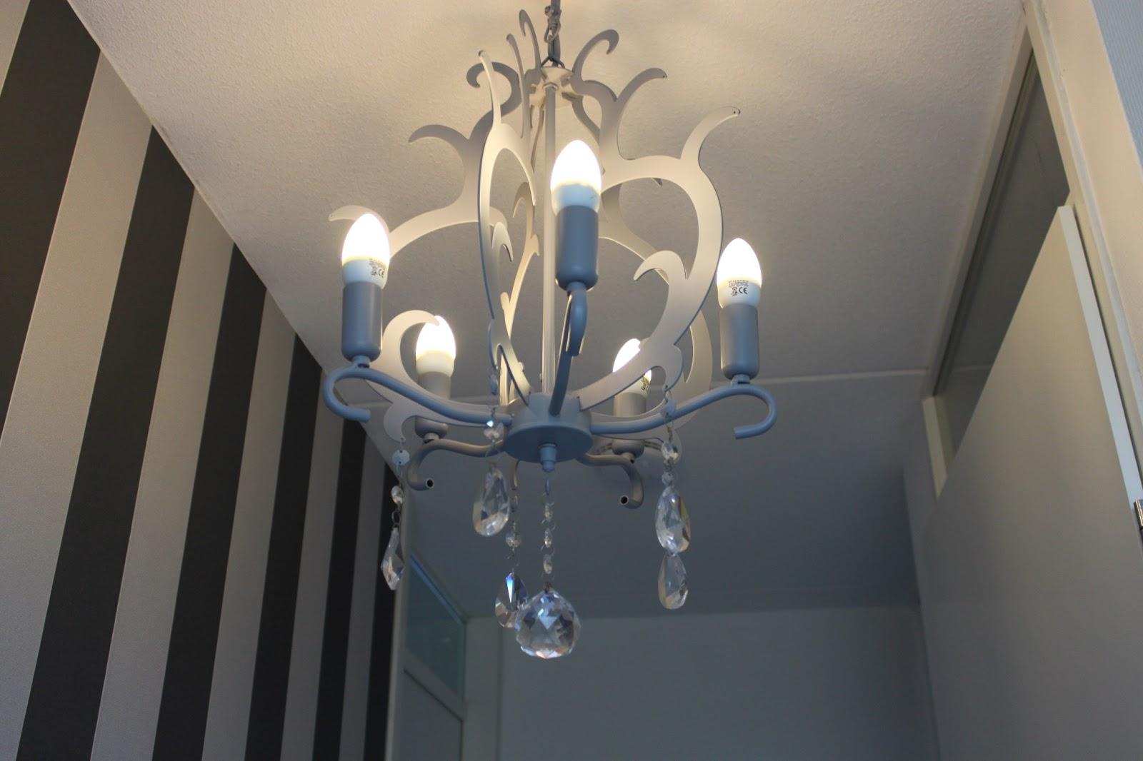 Nog een lamp make-over ~ Elise's Blog