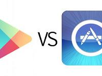 google play vs apple store Siapa Juaranya