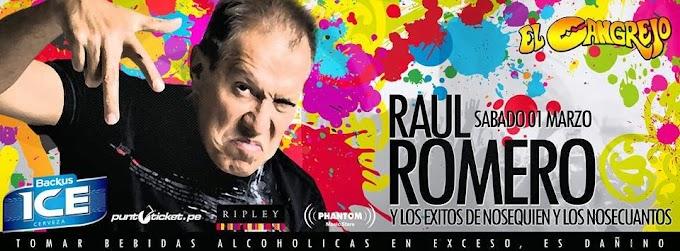Raúl Romero y lo éxitos de los NSQyNSC en Camaná - 01 marzo