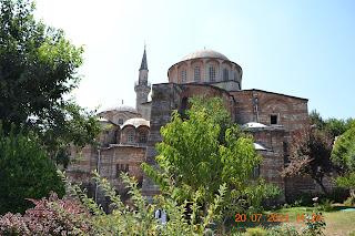 historia de istambul - exterior de Chora Church