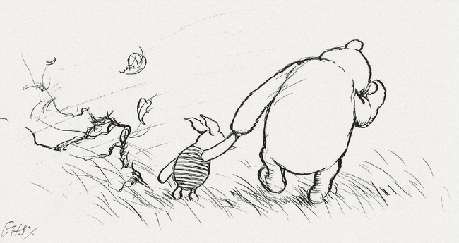 "15 Incredibly Wise Truths We Learned From Winnie The Pooh - ""A day spent with you is my favourite day. So today is my new favourite day."""