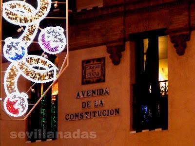 Avenida de la Constitución Navidad 2012 Sevilla