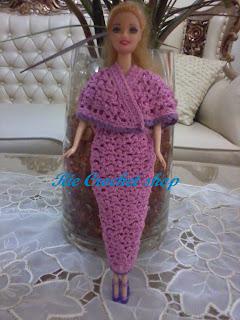 baju rajut barbie baju rajut barbie ini permintaan anak anakku