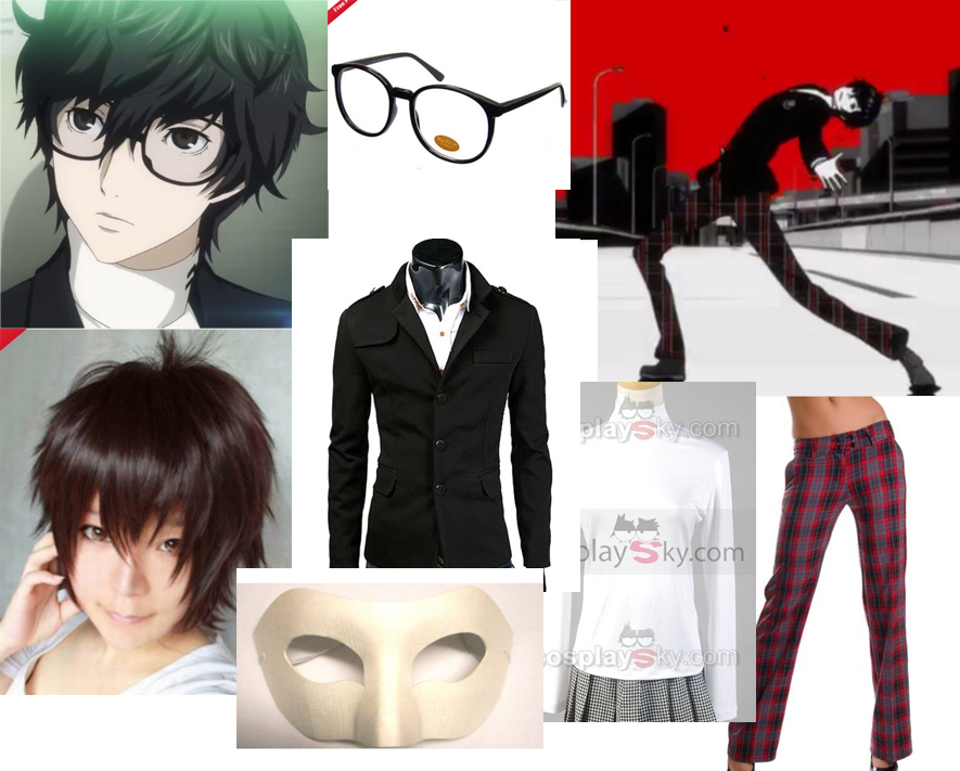 Persona Protagonist Glasses New Persona 5 Protagonist