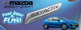 Mazda's SkyActive Technology means more mileage, and more fun!