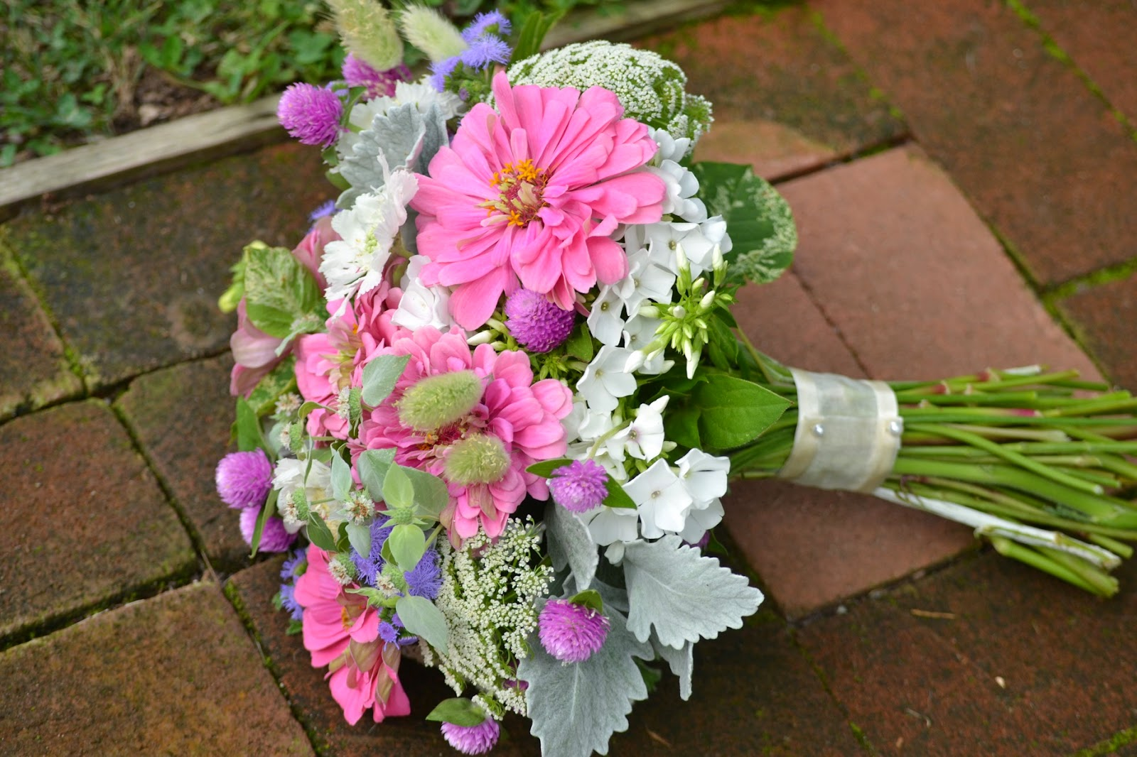 Wedding Flowers from Springwell Garden Flowers for Summer and