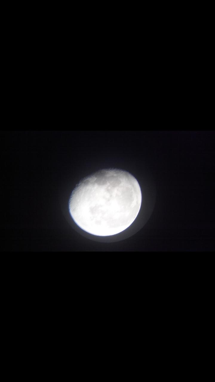 Foto bulan dari dekat