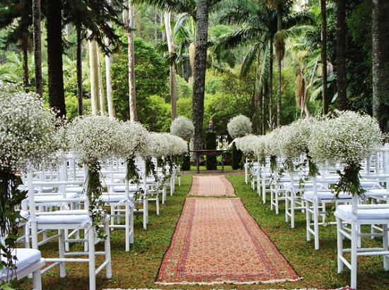 decoracao casamento gypsophila:Decoracao De Casamento Simples